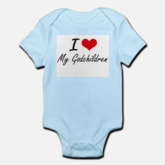 I Love My Godchildren Body Suit