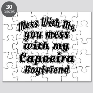 Mess with me you mess with my Capoeira Boyf Puzzle