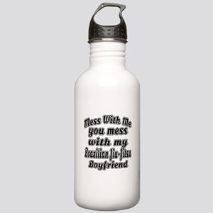 Mess with me you mess Stainless Water Bottle 1.0L