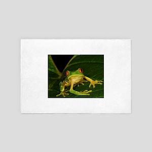 Red-eyed Leaf Frog 4' x 6' Rug