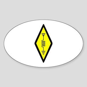 Ham Radio Symbol Sticker