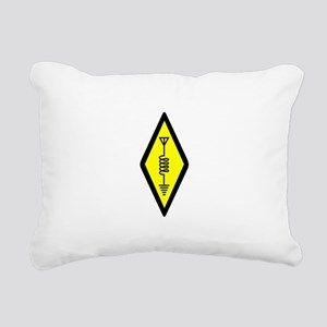 Ham Radio Symbol Rectangular Canvas Pillow