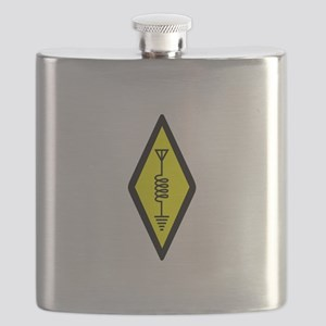 Ham Radio Symbol Flask