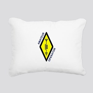 Amateur Operator Rectangular Canvas Pillow