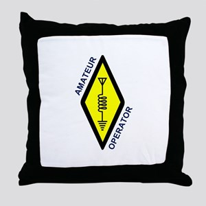 Amateur Operator Throw Pillow
