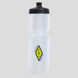 Amateur Operator Sports Bottle