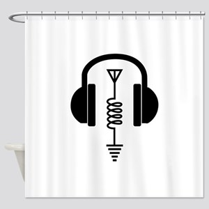 Ham Radio Operator Shower Curtain