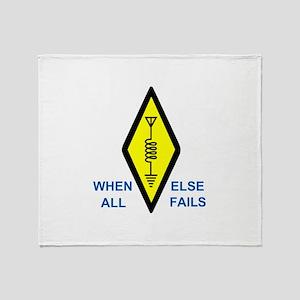 When All Else Fails Throw Blanket