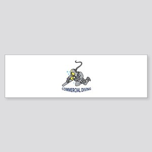 Commercial Diving Bumper Sticker
