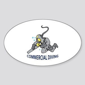 Commercial Diving Sticker