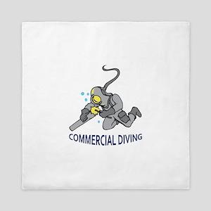 Commercial Diving Queen Duvet
