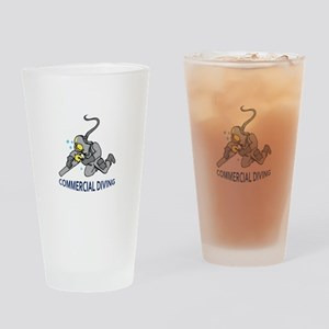 Commercial Diving Drinking Glass