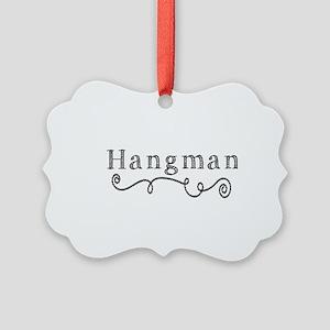 Hangman Picture Ornament