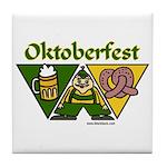 Oktoberfest Tile Coaster