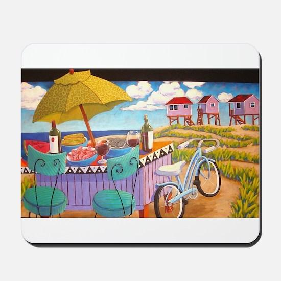 Summer at the Seashore Mousepad