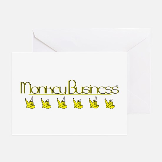 Monkey Business! tm Greeting Cards (Pk of 10)