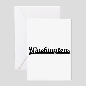 I love Washington District of Colum Greeting Cards