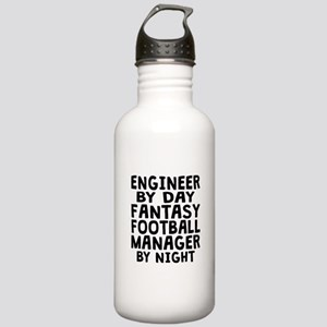 Engineer Fantasy Football Manager Water Bottle