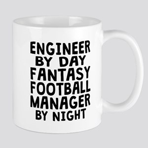 Engineer Fantasy Football Manager Mugs