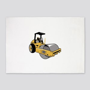 Steamroller 5'x7'Area Rug