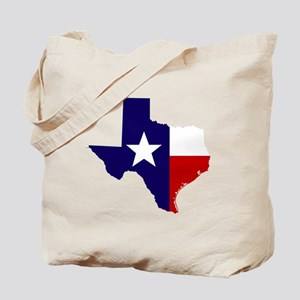 TEXAS LONESTAR WHITE RED Tote Bag