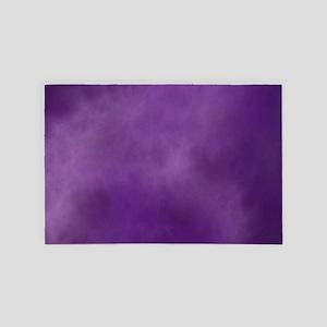 Purple Smoke Marble 4' x 6' Rug