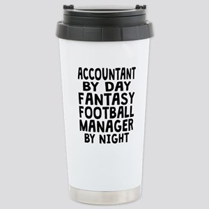 Accountant Fantasy Football Manager Travel Mug