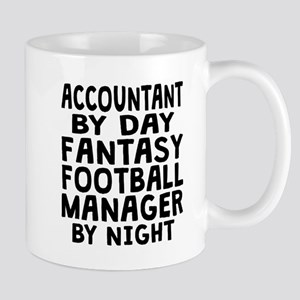 Accountant Fantasy Football Manager Mugs