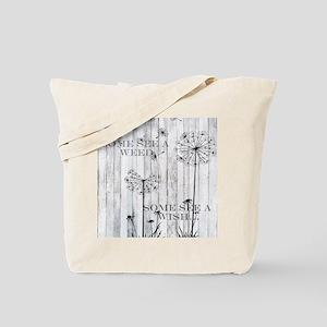 Dandelion Wish Tote Bag