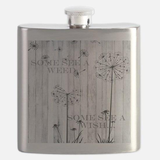 Dandelion Wish Flask
