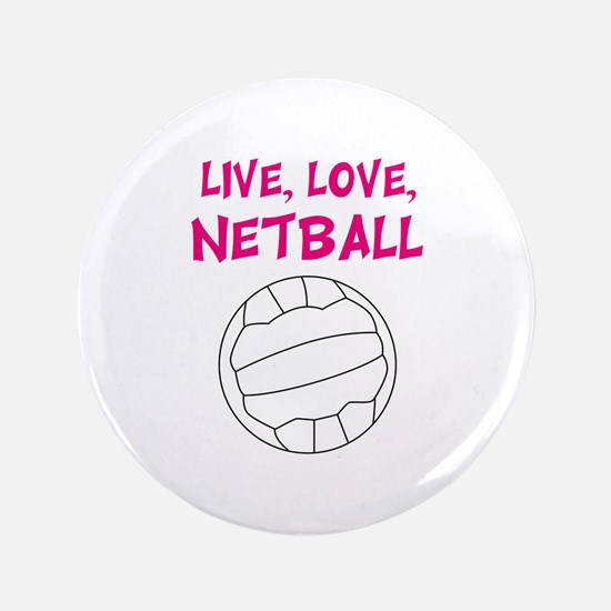 Live Love Netball Button