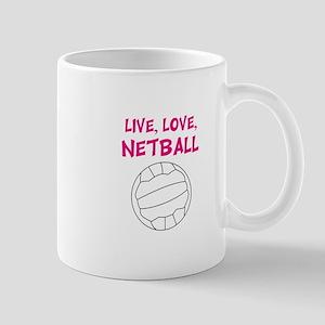 Live Love Netball Mugs