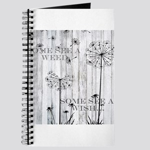 Dandelion Wish Journal