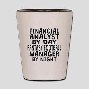 Financial Analyst Fantasy Football Manager Shot Gl