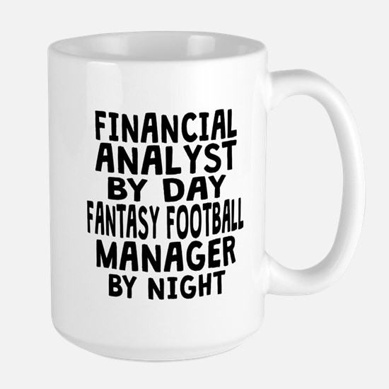 Financial Analyst Fantasy Football Manager Mugs