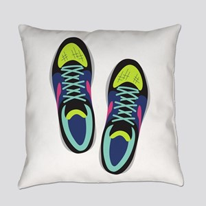Running Shoes Everyday Pillow