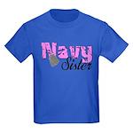 Navy Sister Kids Dark T-Shirt