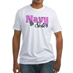 Navy Sister Fitted T-Shirt