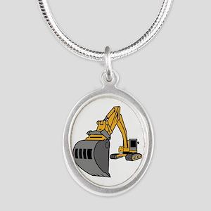 Bulldozer Excavator Necklaces