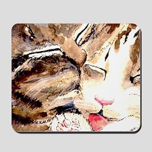 Kitty & Kat Mousepad