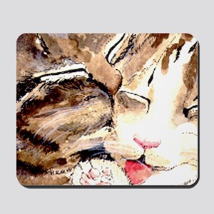 Kitty & Kat Mousepad