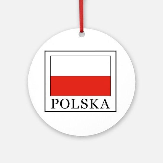 Polska Round Ornament
