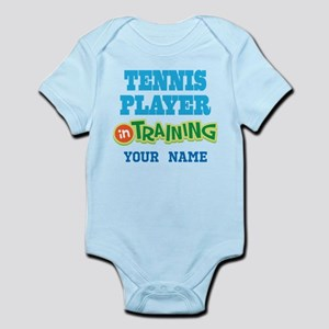 Tennis Player In Training Body Suit