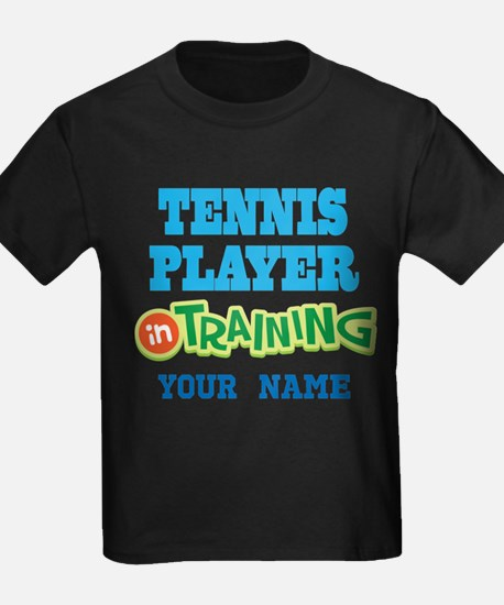 Tennis Player In Training T-Shirt