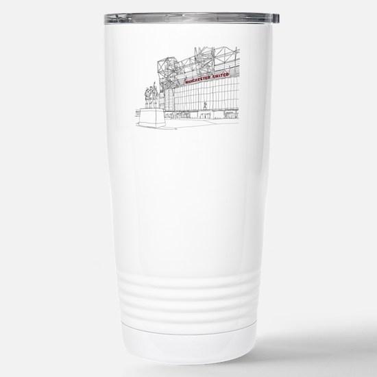 Old Trafford Stainless Steel Travel Mug