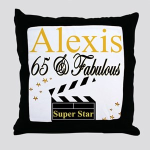 65 YEARS OLD Throw Pillow