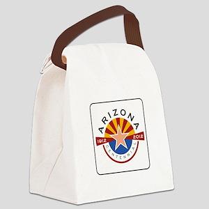 Arizona Centennial 1912-2012 - US Canvas Lunch Bag