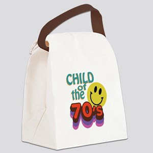 Child Of 70s Canvas Lunch Bag