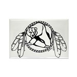 First Nations Tribal Art Fridge Magnet 100 pack