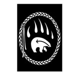 Tribal Bear Claw Postcards (Package of 8)